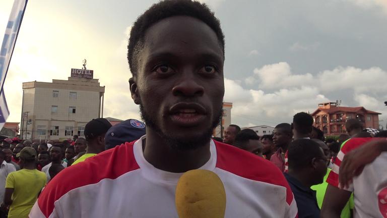 Karl Ndedi: « Contents d'avoir soulevé la coupe »