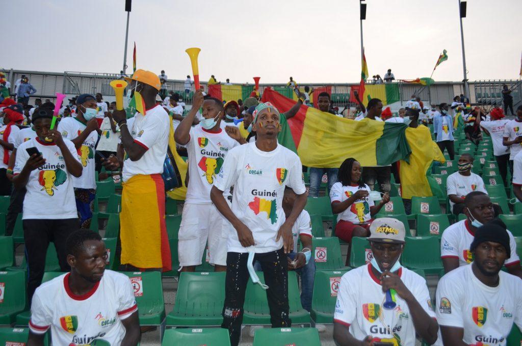 Les Camerounais soutiennent le Syli National de Guinée