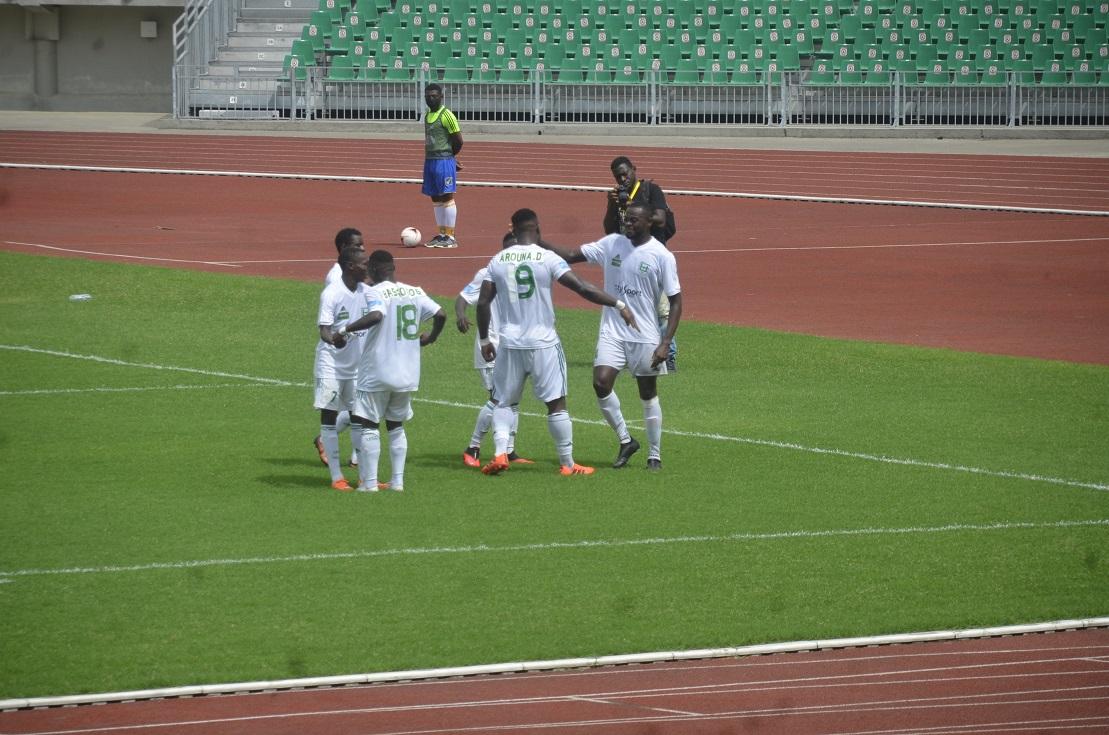 Ligue 1: Arouna Dang offre sa première victoire à l'Union