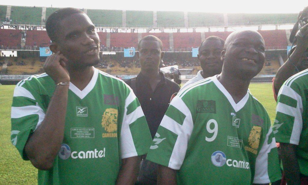 Samuel Eto'o reçu en audience par le président Malien