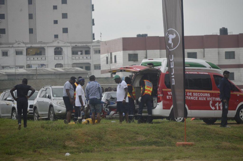 Deux tours d'ambulance pour l'hôpital